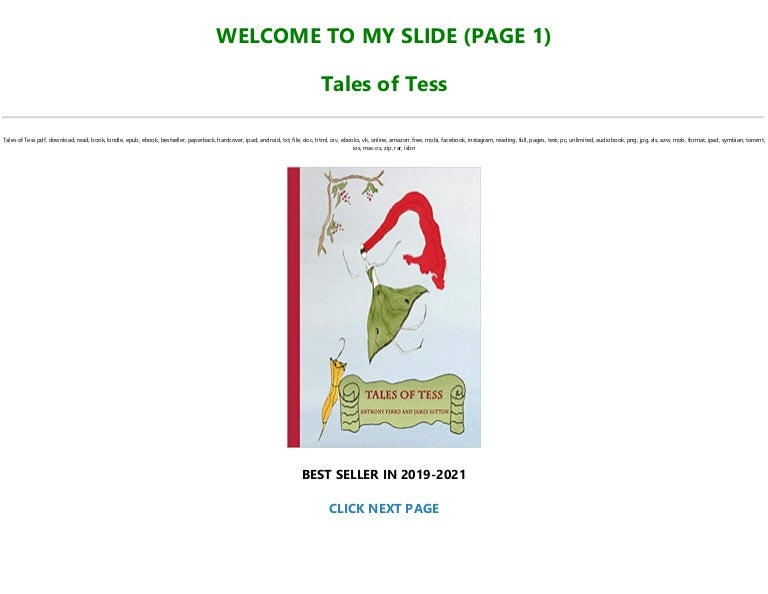 Free Read Book [PDF] Tales of Tess FOR ANY DEVICE