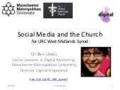 Social Media and the Church for URC