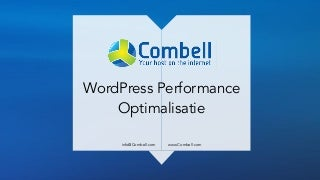 WordPress Performantie Optimalisatie