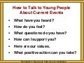 Talking to Youth (Pointers Slides Only)