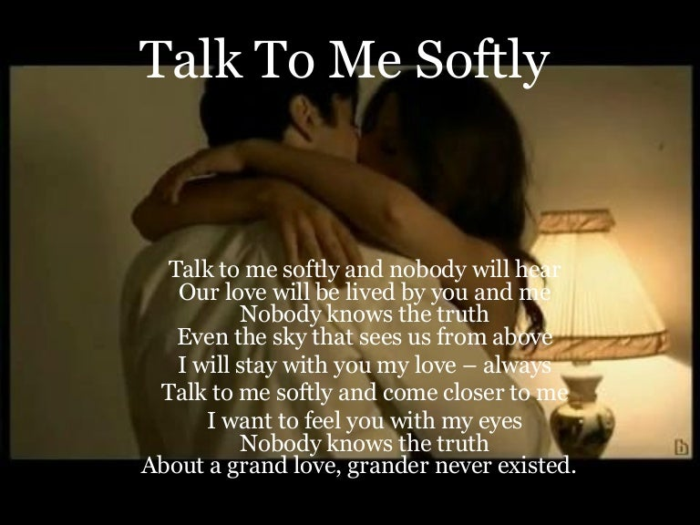 want to talk about me