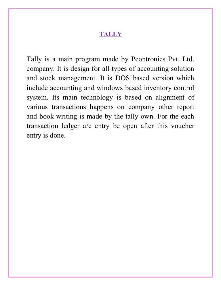 Book pdf learning erp in hindi 9 tally