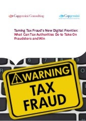 Taming tax frauds new digital frontier