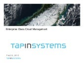 Hot Cloud Companies: Tap In Systems - The Problem: Managing Cloud Complexities