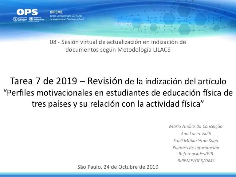 08 De 09 Revisión De La Tarea 07 Tema Estudios En