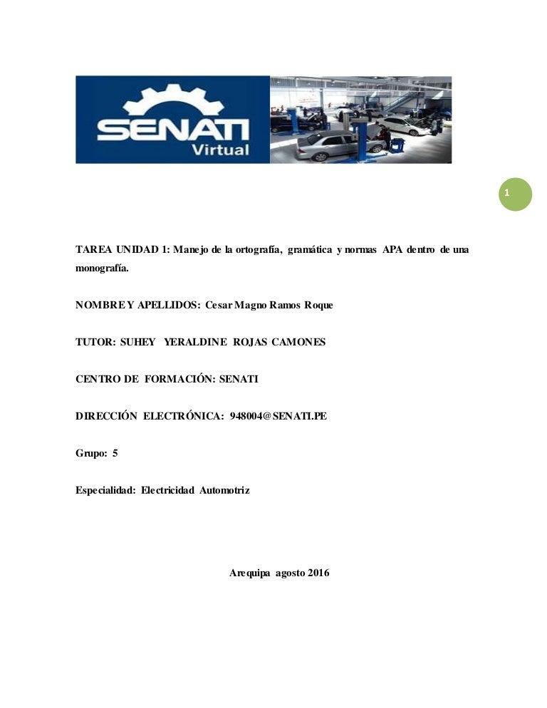 Monografias senati arequipatarea tece 201620 grupo a zonal arequ ccuart Image collections