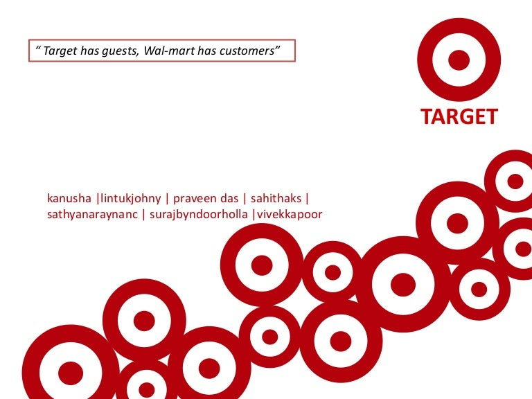 target corporation - brand management, Modern powerpoint