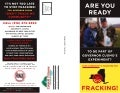 "Anti-Fracking Propaganda Brochure from Catskill Citizens for ""Safe"" Energy"