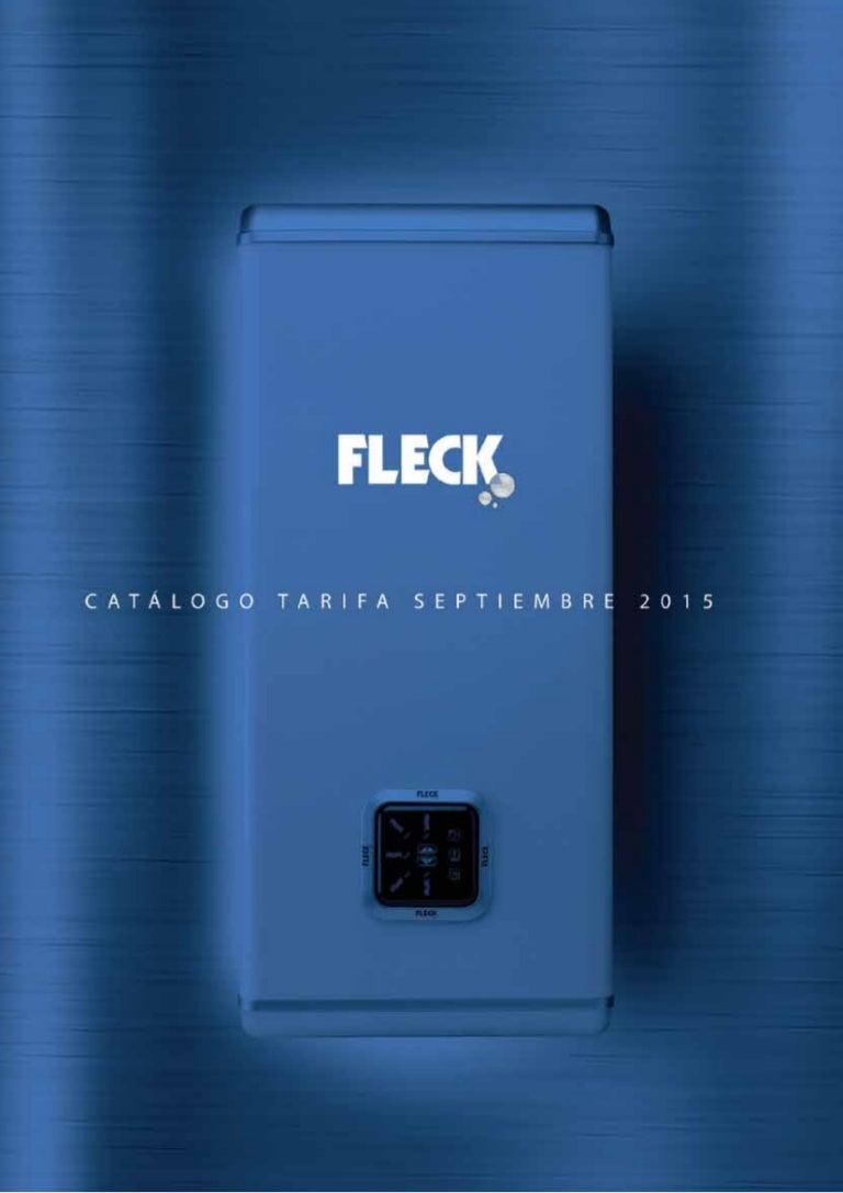 Fleck 5414849549784 Termo El/éctrico Nilo 50 L,