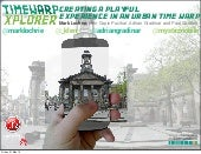 Time-wARpXplorer