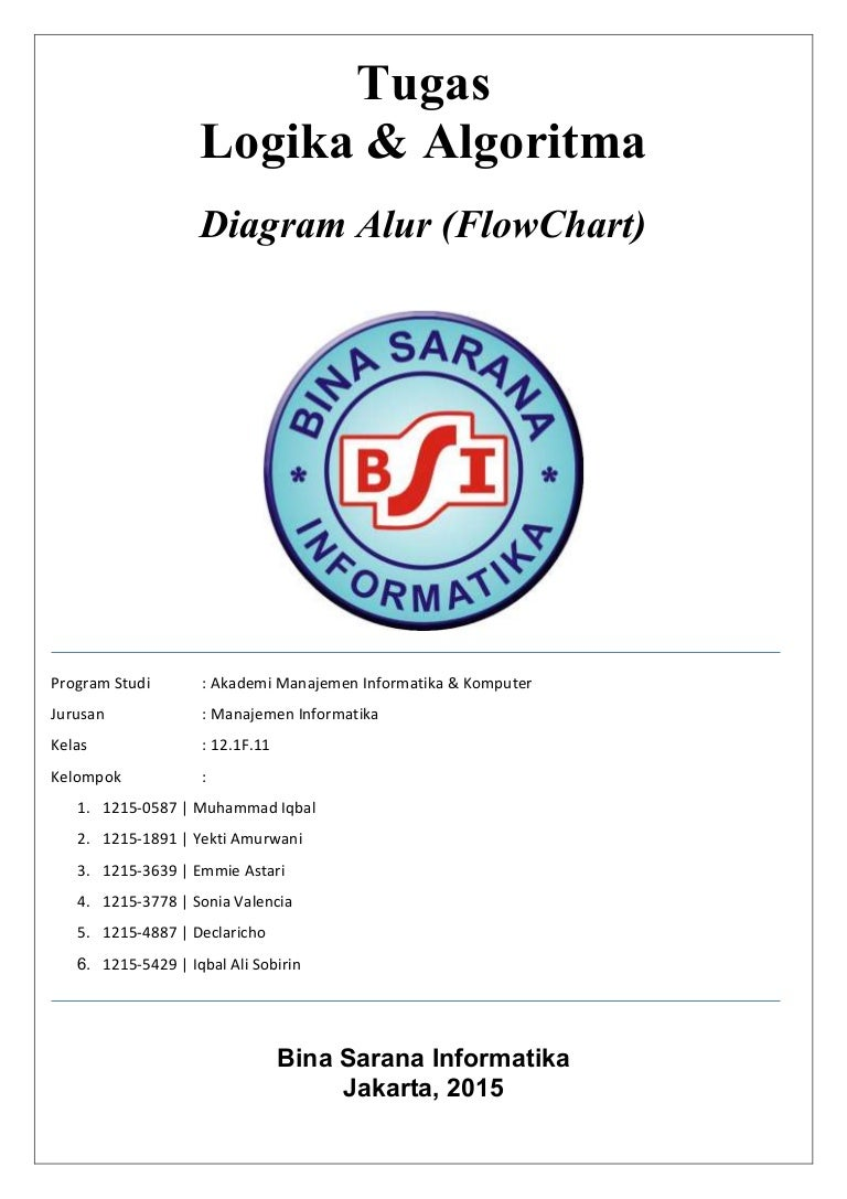 Makalah Diagram Alur Flowchart