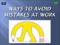 How to Avoid Mistakes At Work