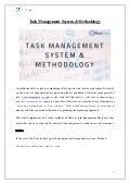 Task management methodologies