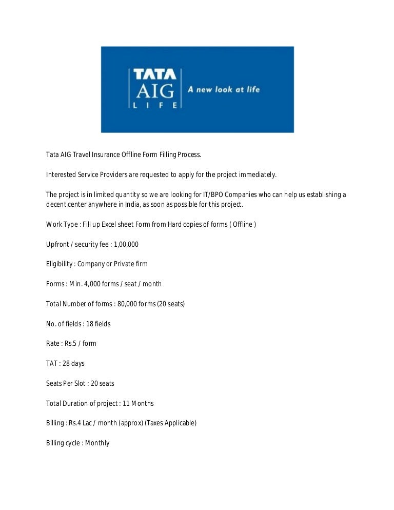 tata aig microinsurance project Insurance rethink insurance for a digital world helping global insurers innovate, gain agility and compete in a customer-driven, digital world.