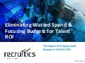 Eliminating Wasted Spend & Focusing Budgets for Talent ROI: The Impact of Programmatic Buying on Traffic & CPA