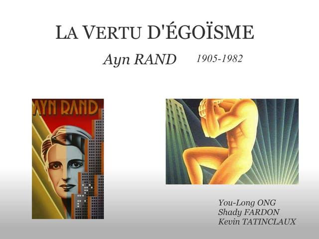 Ayn Rand par Tatinclaux ong-fardon