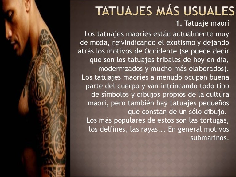 Tatuajes Más Usuales