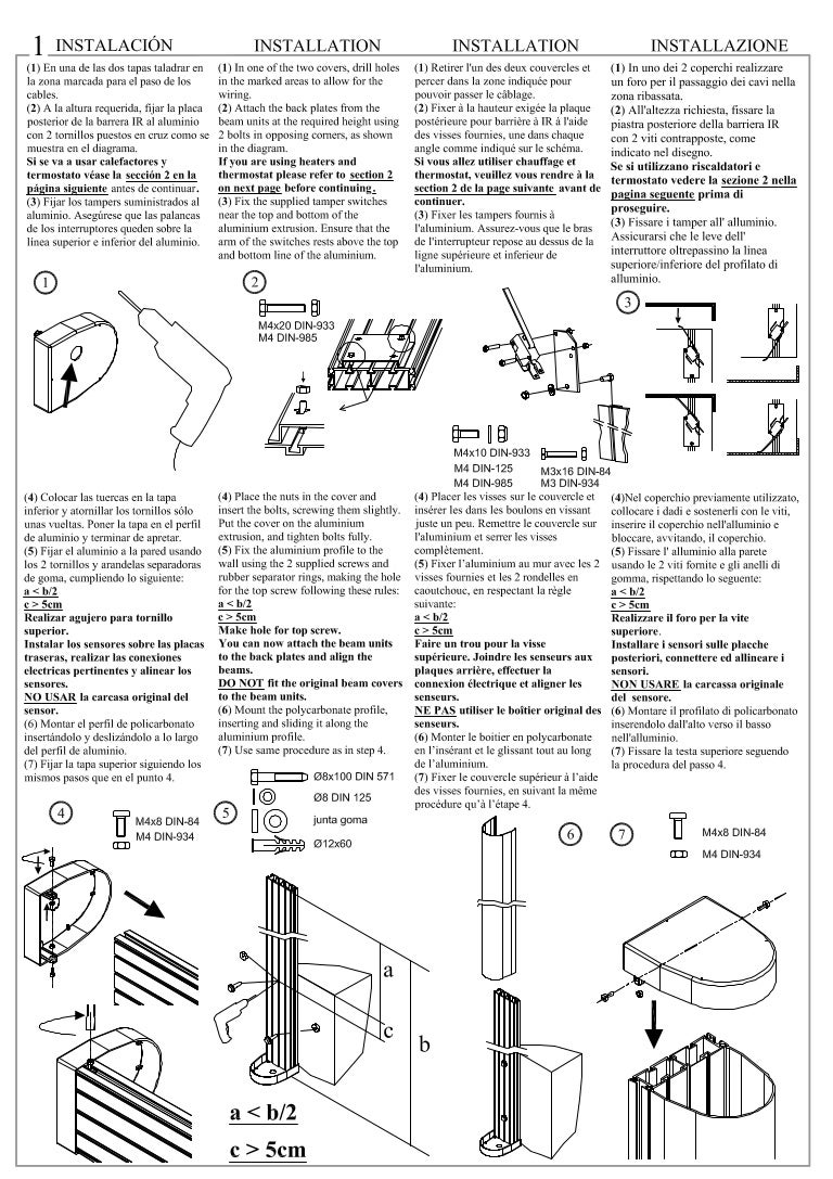 Takex TAW-300 Instruction Manual