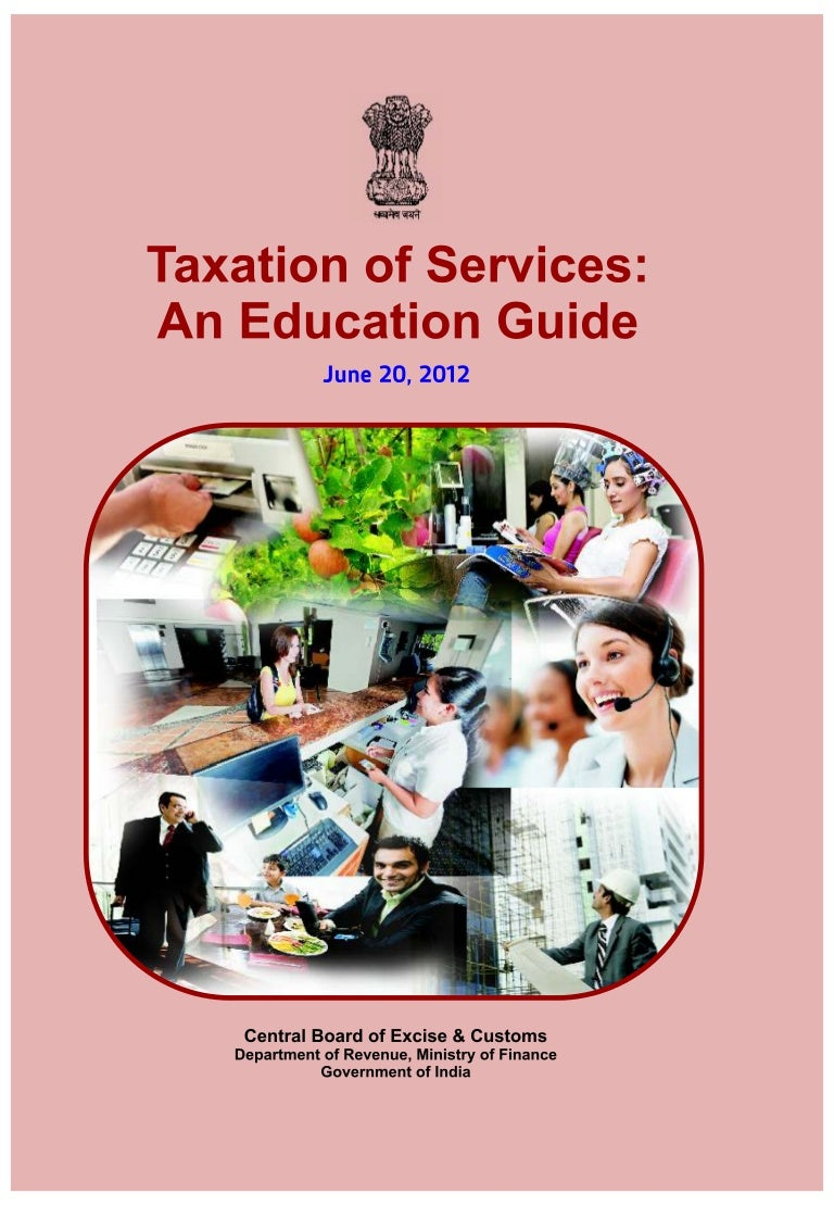 India Taxation Of Services An Education Guide Manual Books 1989 Toyota Cressida Wiring Diagram