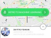 Introduction to Machine Learning for Taxify/Bolt