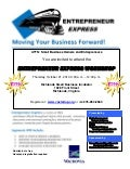 Tazewell Entrepreneur Express 3 Flyer, October 21,2010