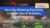 How the Sharing Economy Creates Travel Industry Opportunities