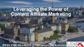 TBEX Europe 2016, Leveraging the Power of Content Affliate Marketing, Orr Shakked and Chris Christiansen