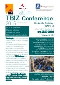 Tutto in una sera: TBIZ Conference 2015
