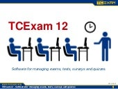 TCExam 12 [ENG] - Computer-Based Assessment