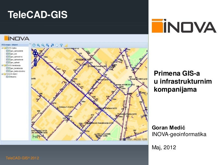 Telecad Gis Enterprise Implementation Case