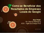Tchê SEO - Como se Beneficiar dos Resultados de Empresas Locais (Local Search)