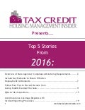 Tax Credit Housing Management Insider Compendium 2016