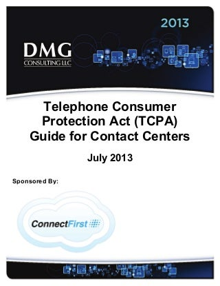 TCPA Guide for Contact Centers