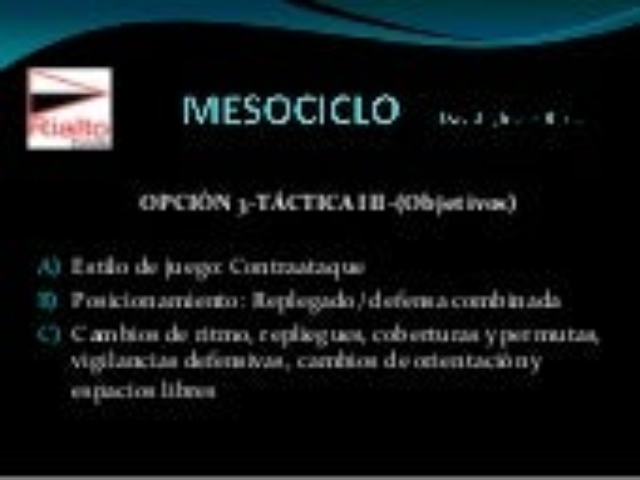 Táctica mesociclo iii-david iglesias barca