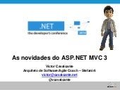 Novidades do ASP.NET MVC3 Preview 1