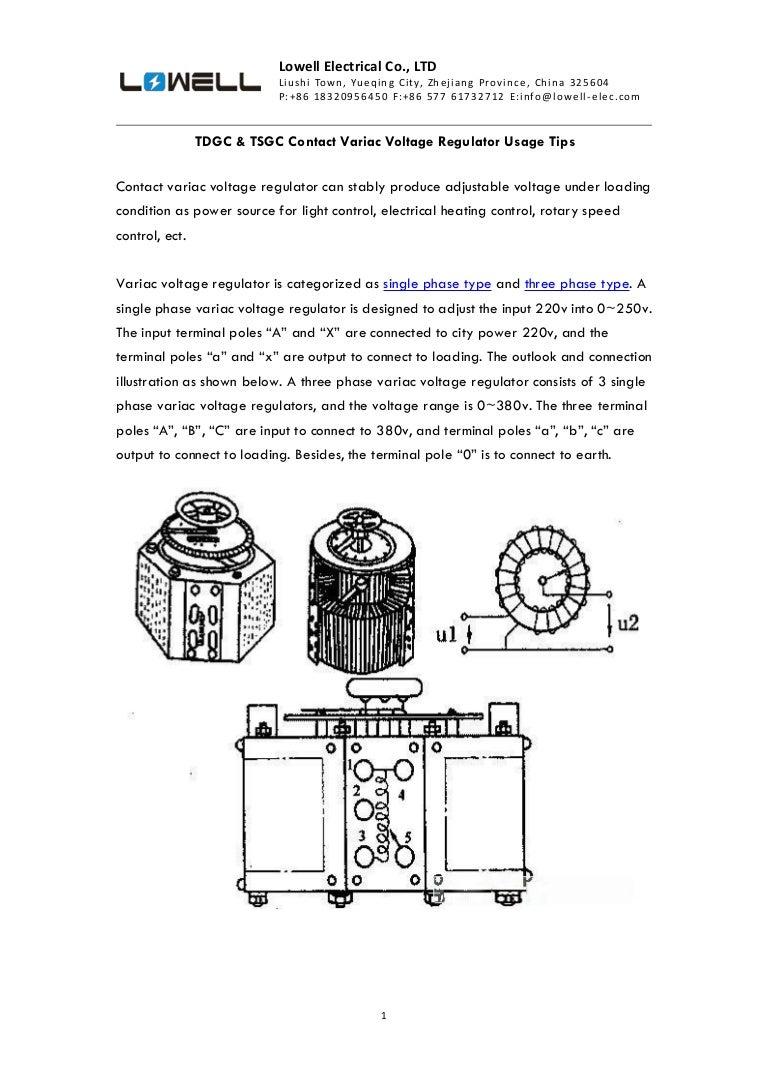 Tdgc Amp Tsgc Contact Variac Voltage Regulator Usage Tips Adjustable