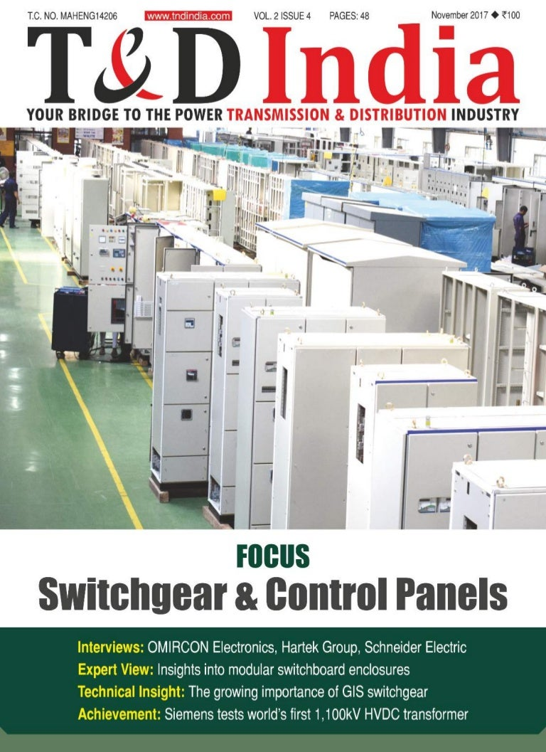 T&D India (November 2017) - Swithchgear & Control Panels