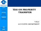 Tds on property transfer