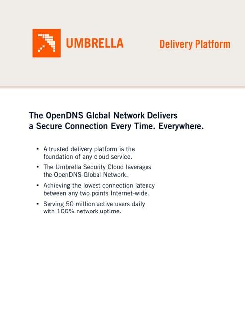 Tech Doc: Umbrella Delivery Platform