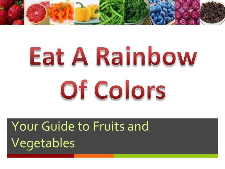 teach children about fruits vegetables
