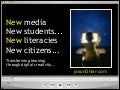 Teacherkeynote- new media, literacies, students, citizens. 2-2014