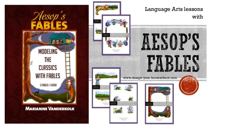 picture relating to Aesop's Fables Printable identified as Coaching Language Arts with Aesops Fables