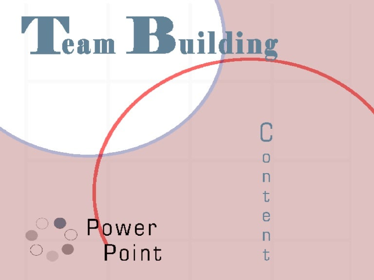 Team Building Slides Powerpoint Presentation