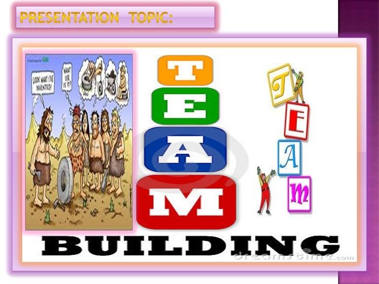 Team building presentation ppt.2003