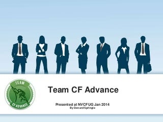 Team CF Advance Introduction