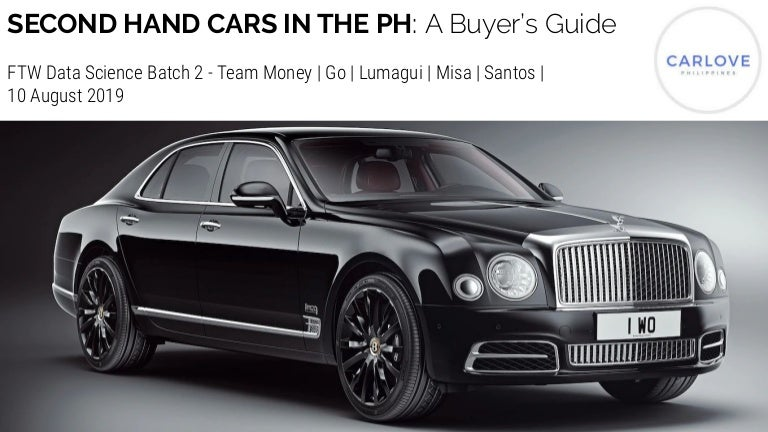 Second Hand Cars In The Philippines A Buyer S Guide