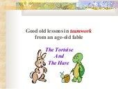 New Version of Tortoise and Hare story