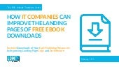 How IT Companies Can Improve the Landing Pages of Their Free Ebook Downloads: a Website Teardown