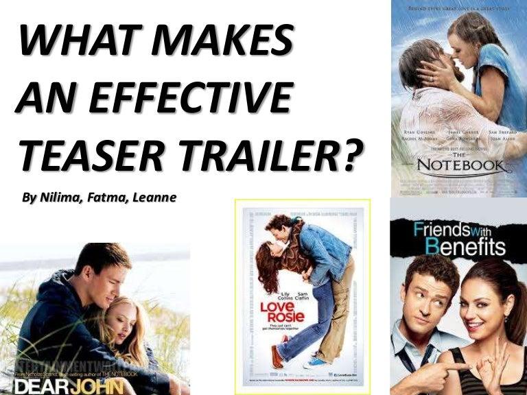 Teaser trailer presentation final