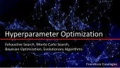 Hyperparameter Optimization for Machine Learning